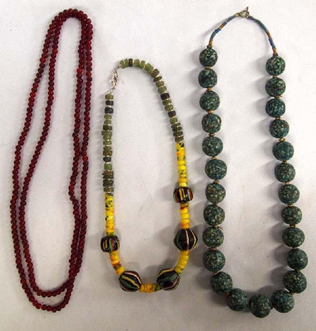 3 Strands of Antique Trade Beads