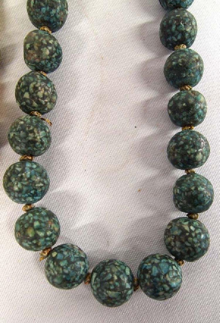 3 Strands of Antique Trade Beads - 2