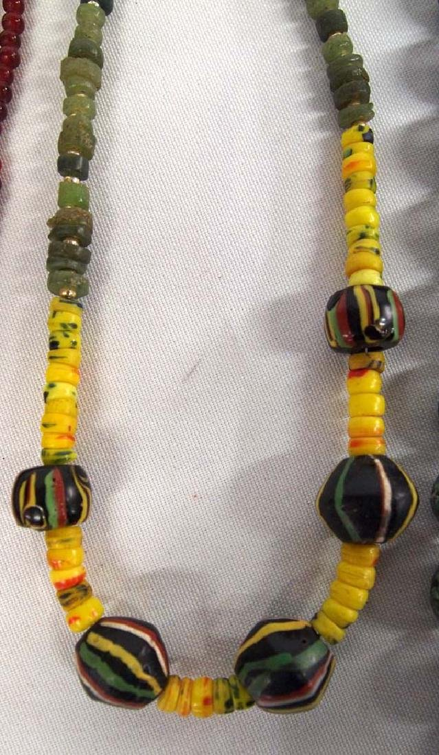 3 Strands of Antique Trade Beads - 3