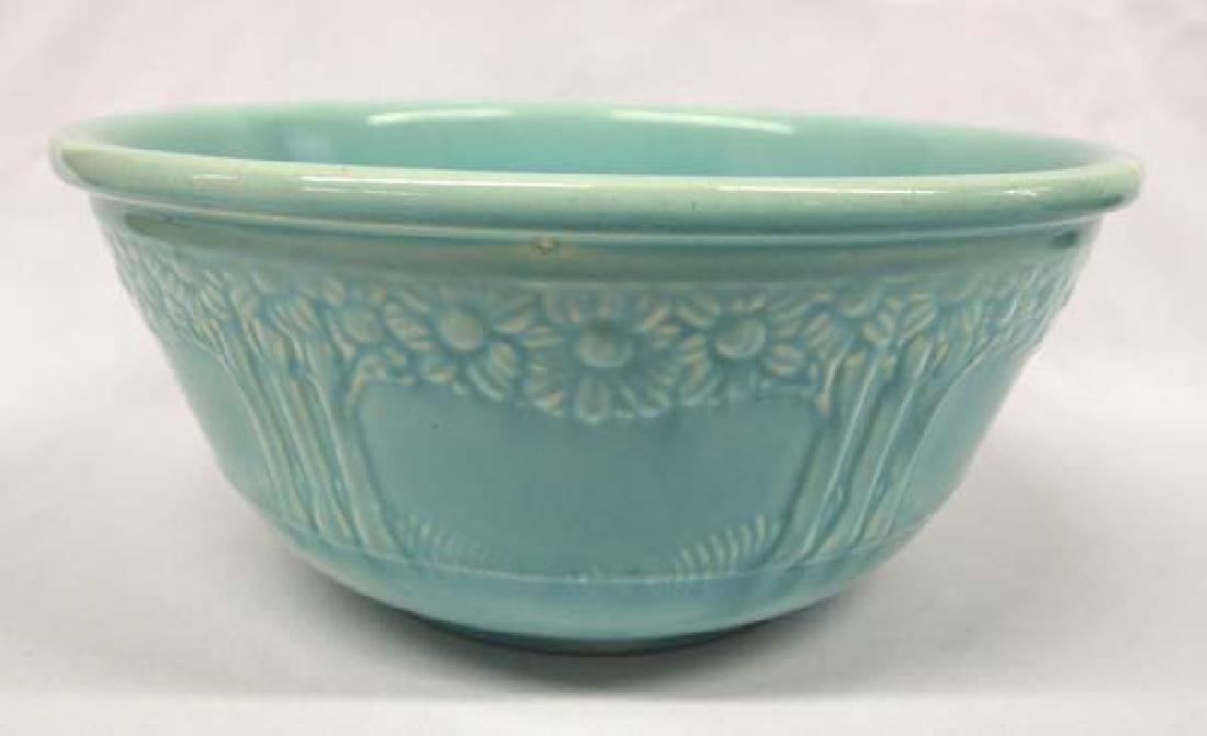 1930s Vintage Aqua Homer Laughlin Mixing Bowl