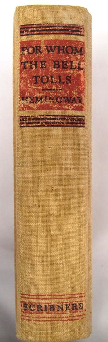 1st Edition For Whom the Bell Tolls by Hemingway