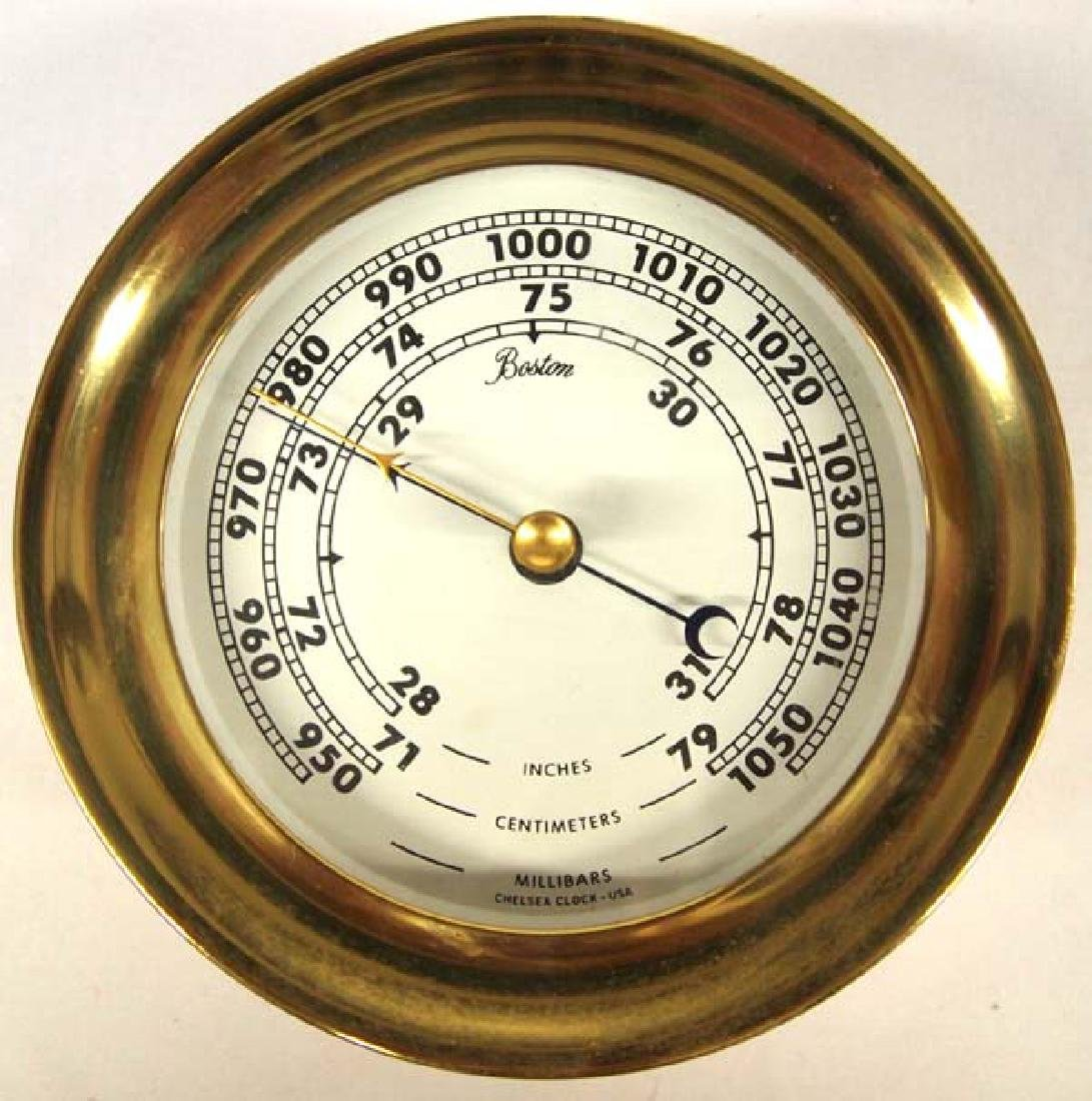 Chelsea Barometer made in Boston MA