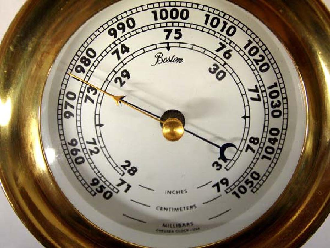 Chelsea Barometer made in Boston MA - 2