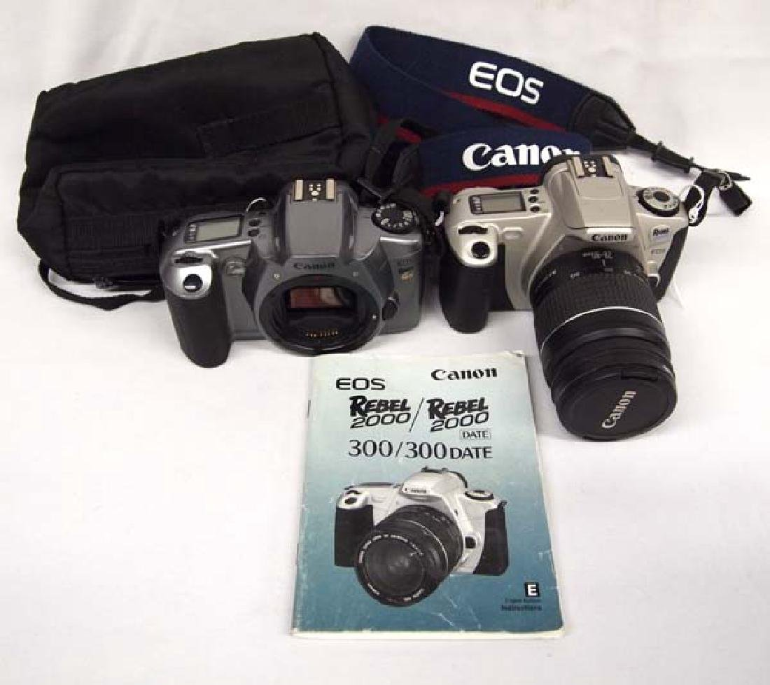 Pair of 2 Canon Cameras and 1 Lens