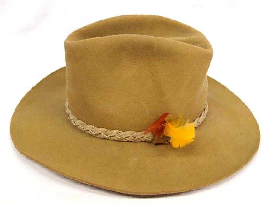 850379b4ebf67 Resistol Self-Conforming Cowboy Hat Roundup Coll.