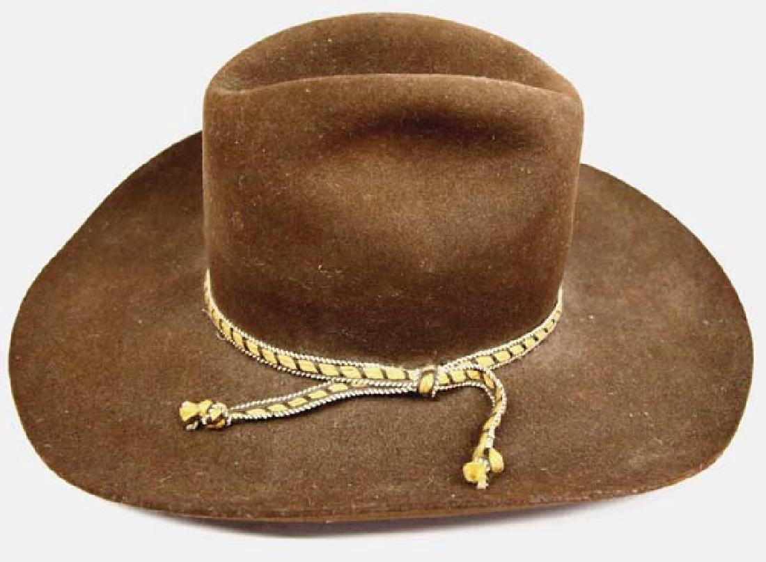 American Hat Brown Wool Cowboy Hat, Size 7.25