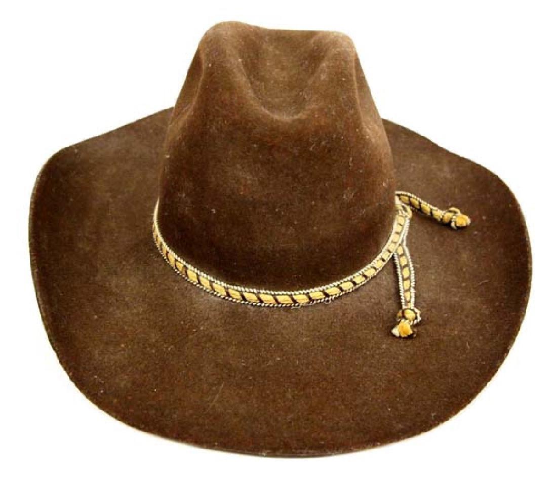 American Hat Brown Wool Cowboy Hat, Size 7.25 - 2