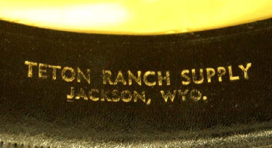 American Hat Brown Wool Cowboy Hat, Size 7.25 - 3
