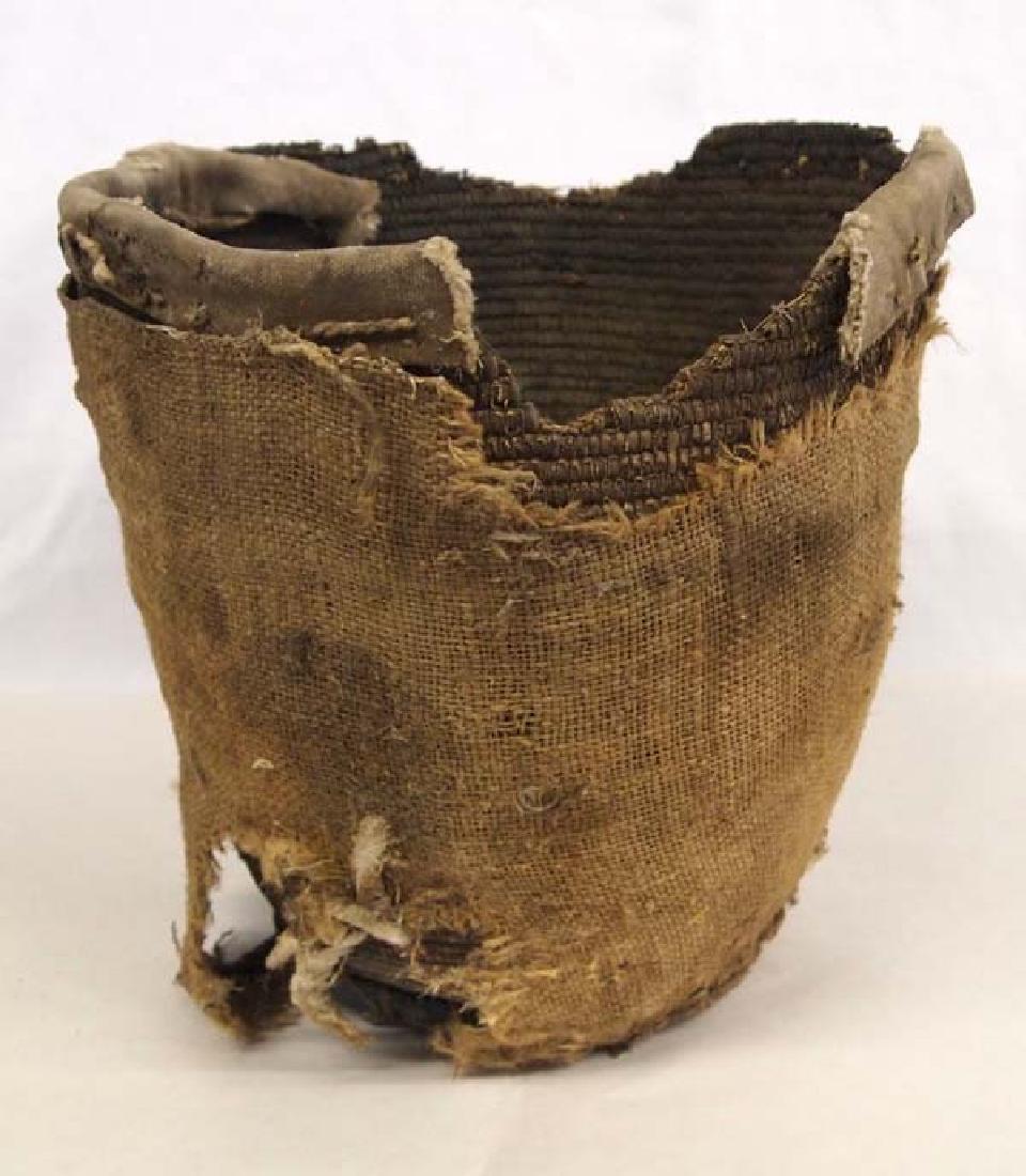 Antique Native American Salish Basket