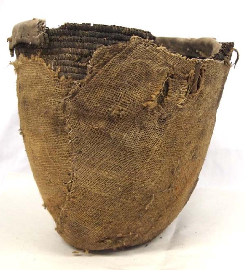 Antique Native American Salish Basket - 3
