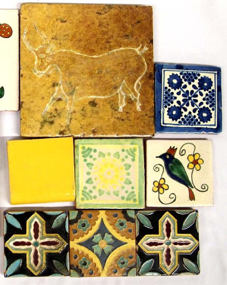 Vintage Mexican Tiles, Various Sizes - 2