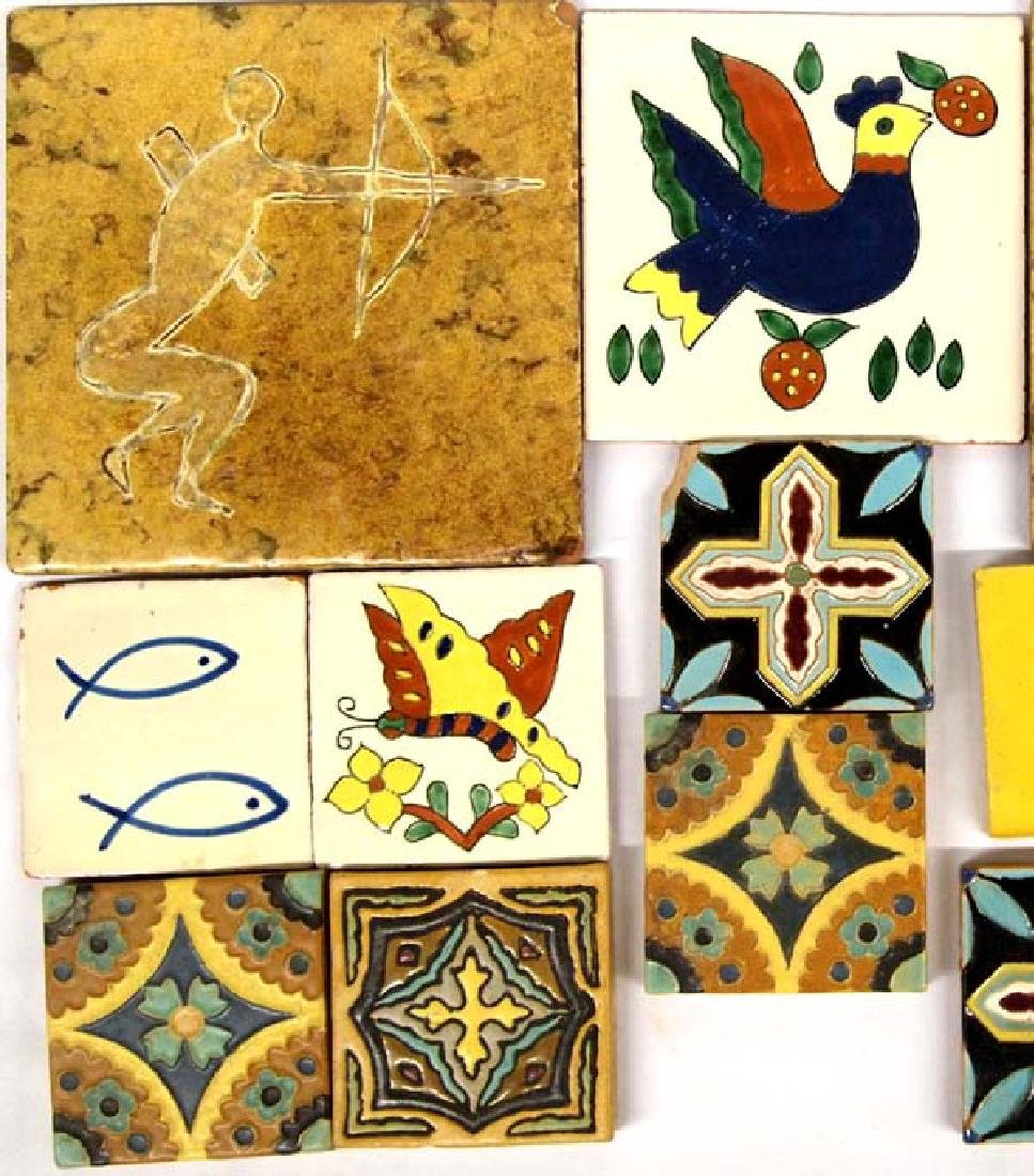 Vintage Mexican Tiles, Various Sizes - 3