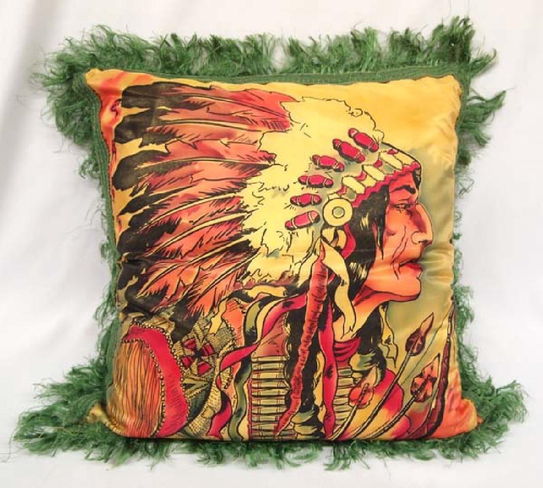 Vintage Seattle Washington Souvenir Pillow