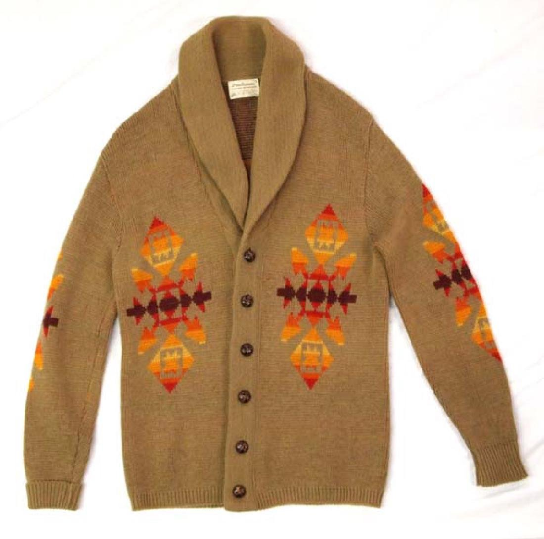 Pendleton High Grade Western Wear Wool Sweater