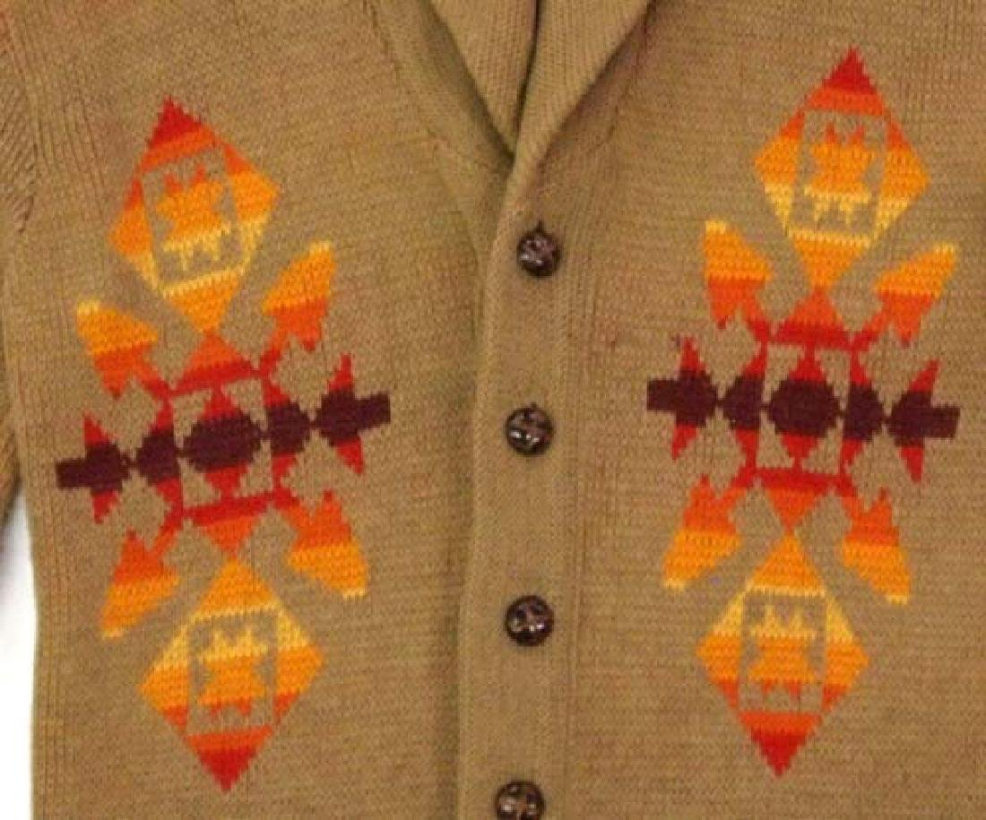 Pendleton High Grade Western Wear Wool Sweater - 2