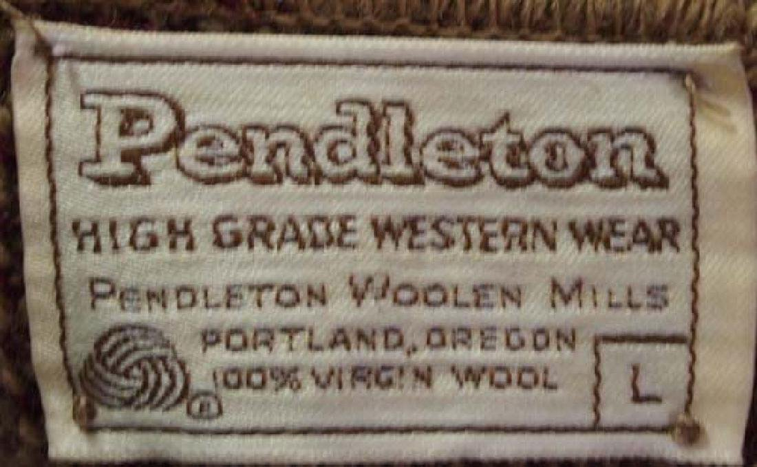 Pendleton High Grade Western Wear Wool Sweater - 4