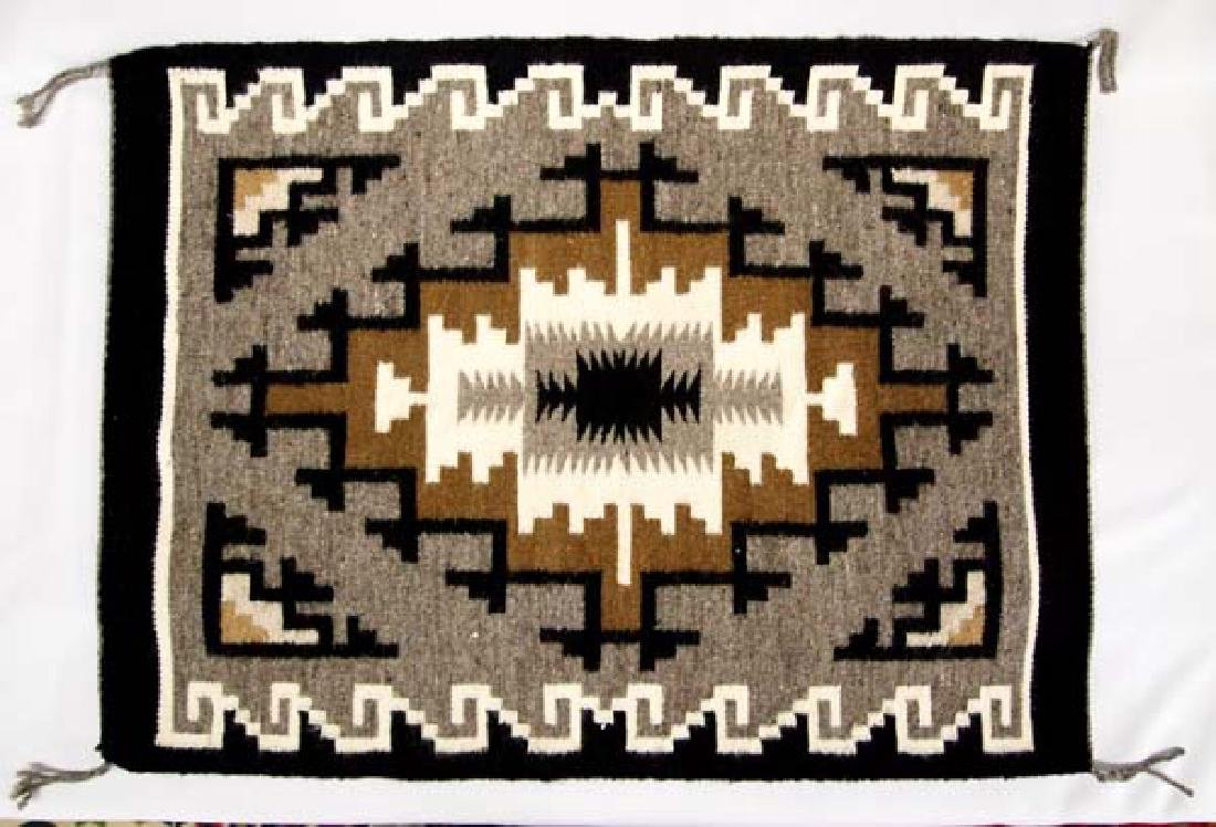 Native American Navajo Klagetoh Woven Textile Rug