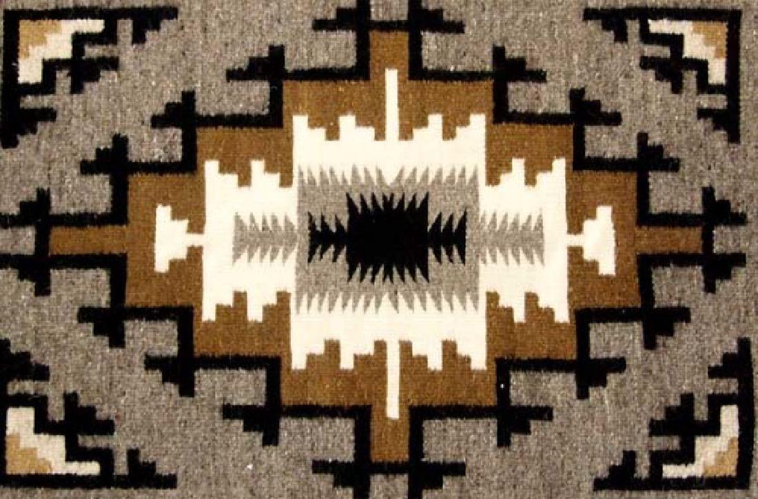 Native American Navajo Klagetoh Woven Textile Rug - 2