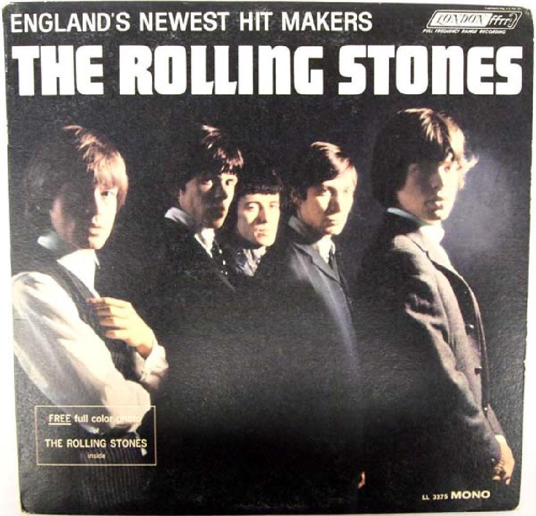1964 The Rolling Stones 33 RPM Vinyl Album