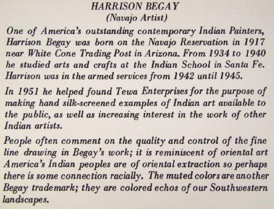 Pair of Harrison Begay Silkscreen Prints - 6