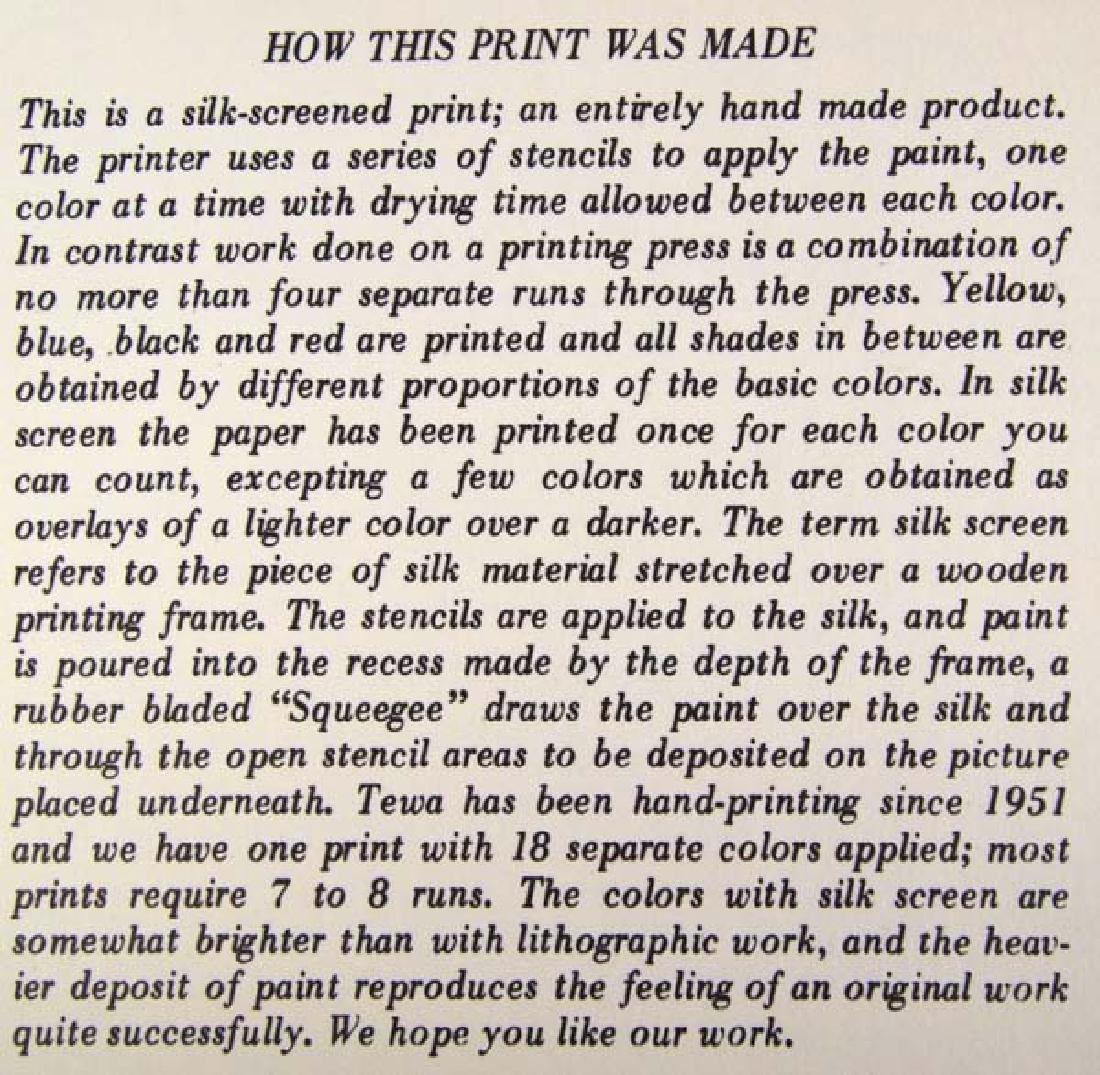 Pair of Harrison Begay Silkscreen Prints - 7