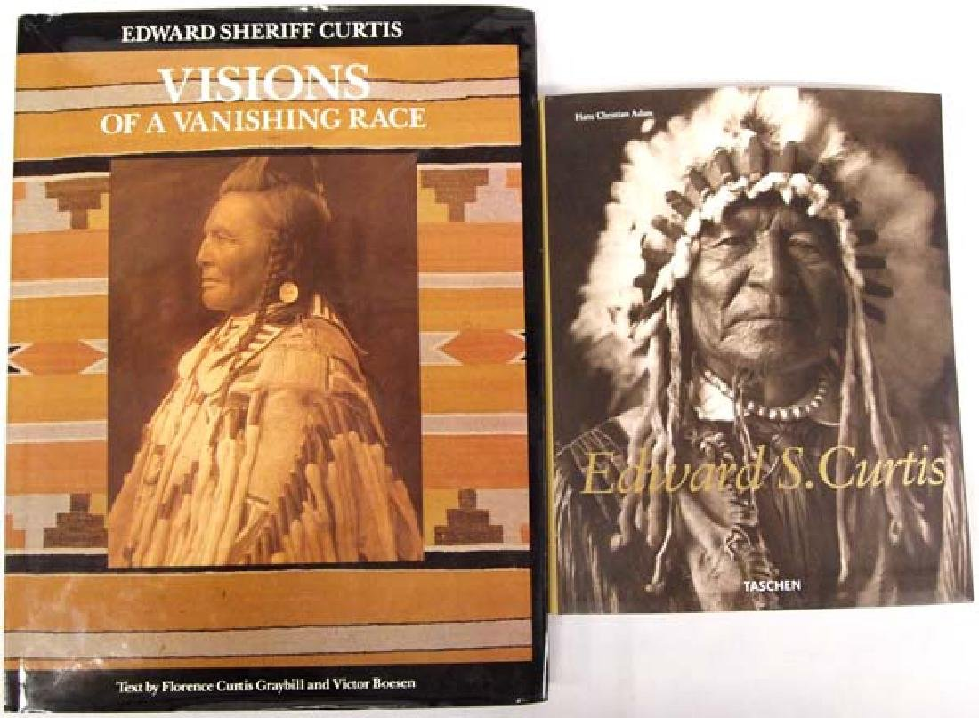 Two Edward Sherriff Curtis Books
