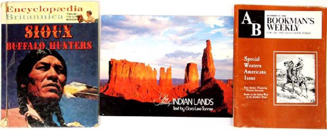 2 Books and 1 Magazine, Native American Interest