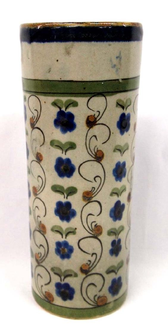 El Palomar Mexico Ken Edwards Glazed Pottery Vase