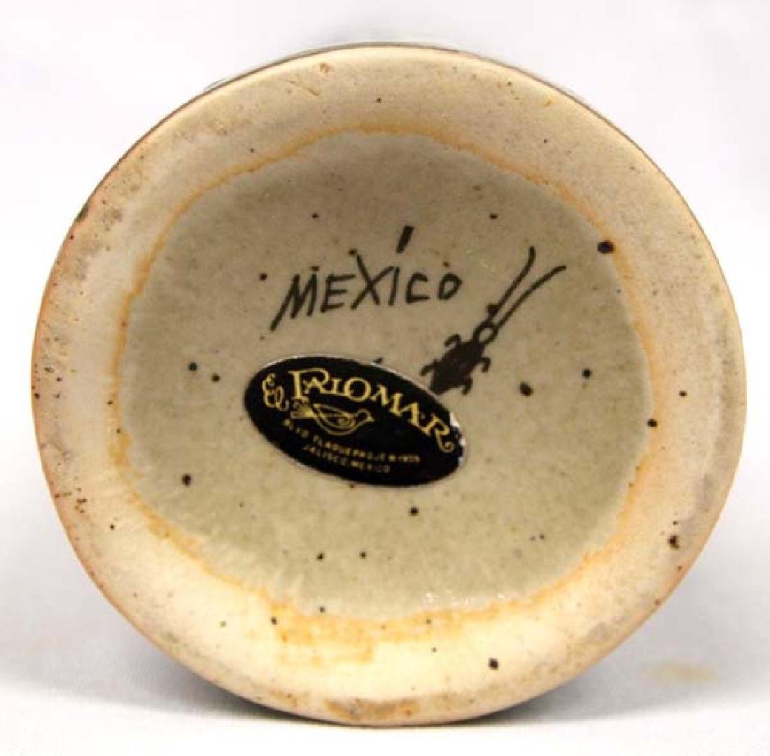 El Palomar Mexico Ken Edwards Glazed Pottery Vase - 3