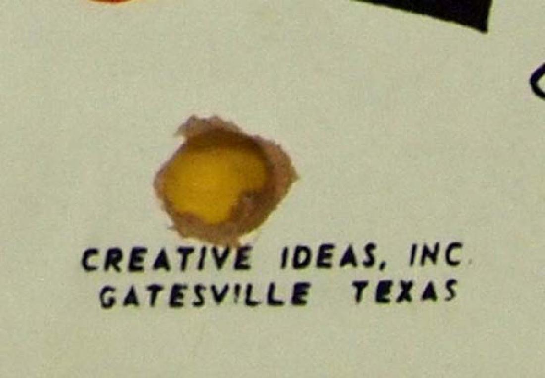 Vintage 1950 Creative Ideas Wa Hoo Board Game - 2
