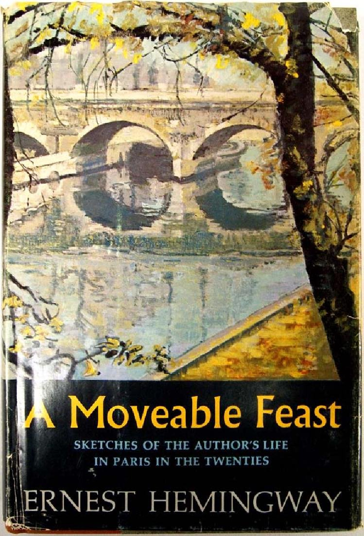 1st Edition, A Moveable Feast by Ernest Hemingway