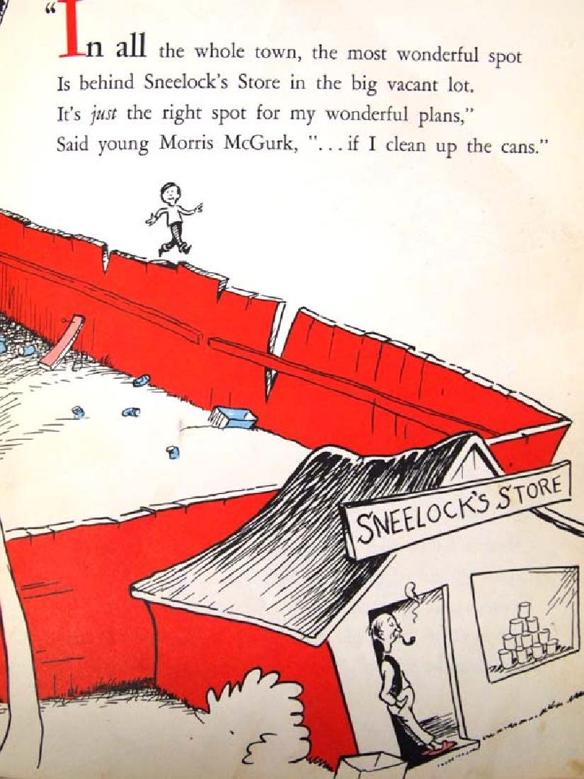 1956 If I Ran the Circus by Dr. Seuss - 3