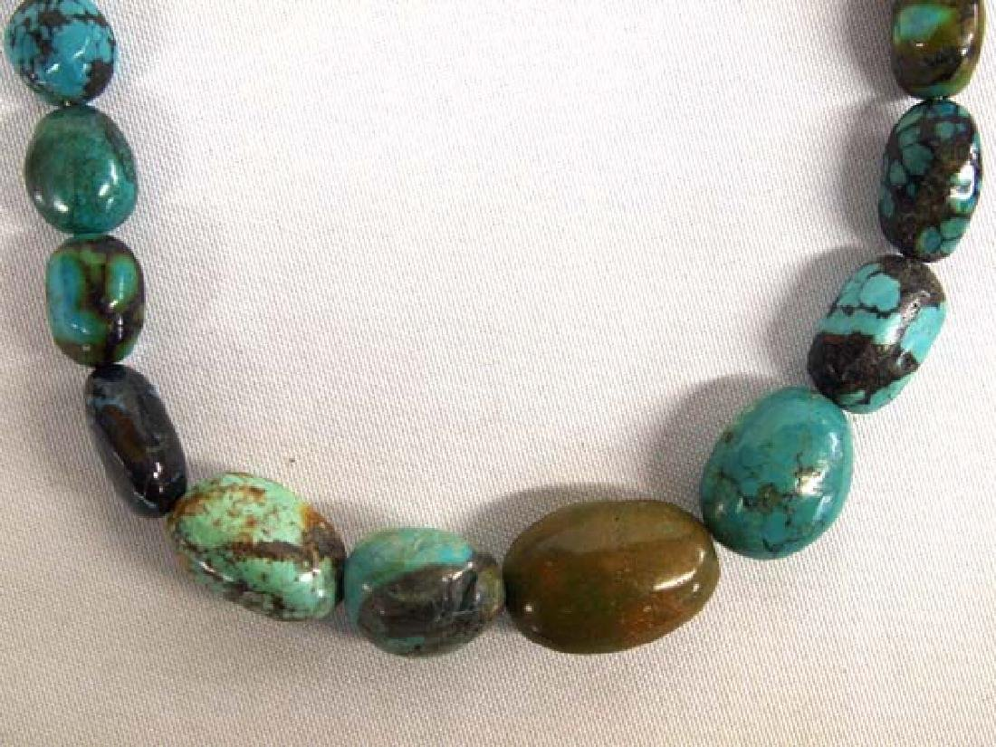 Jay King Mine Finds Turquoise Necklace