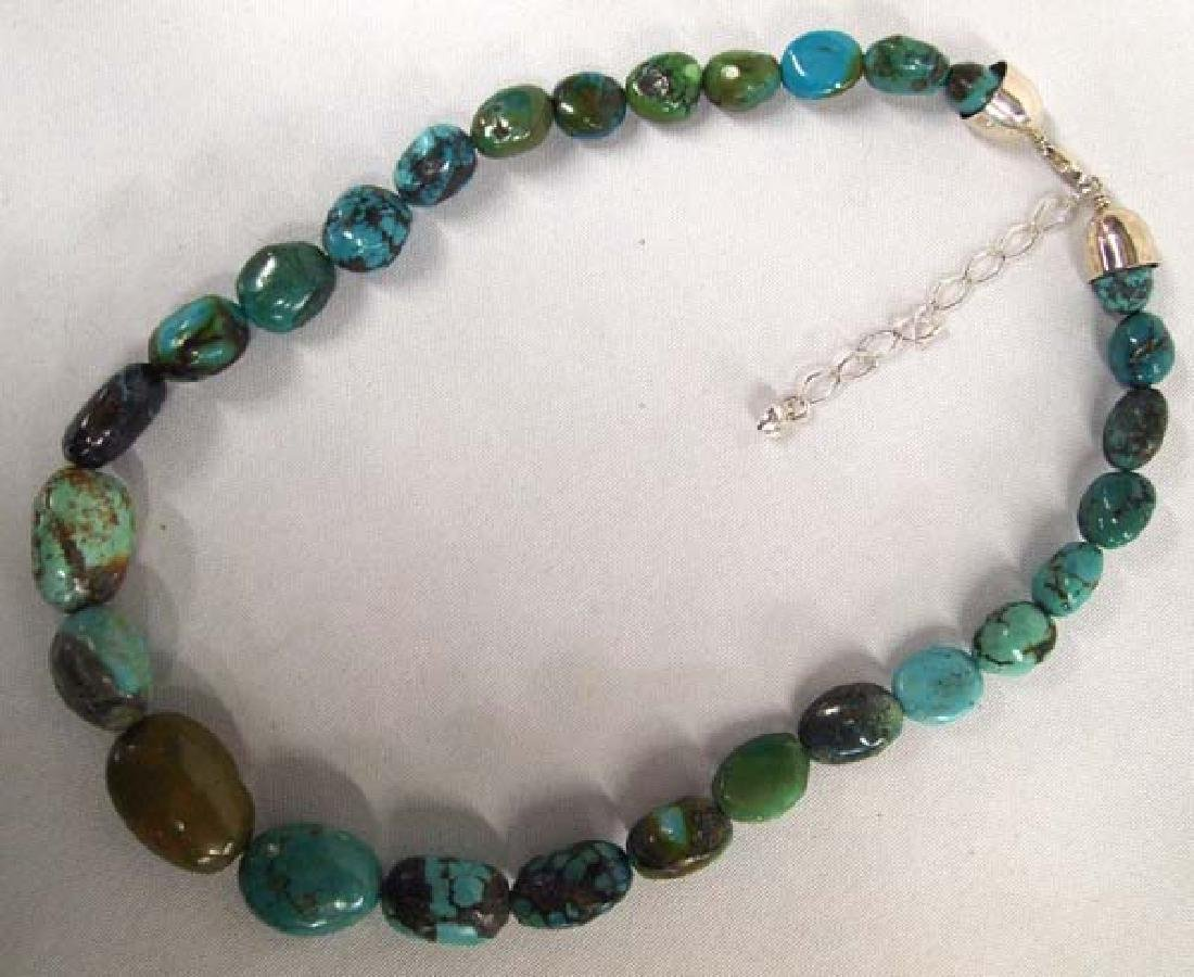 Jay King Mine Finds Turquoise Necklace - 2