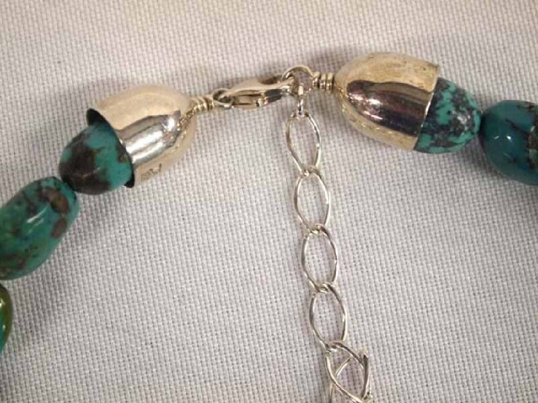Jay King Mine Finds Turquoise Necklace - 3