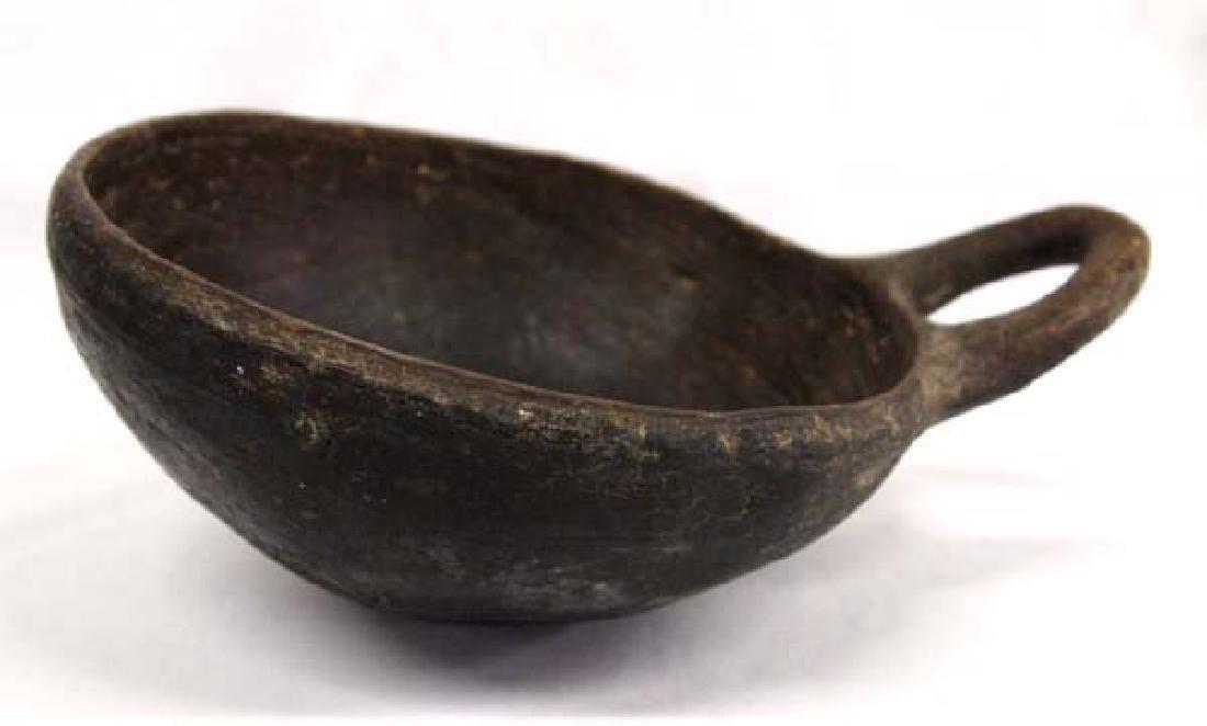 Large Historic Pueblo Pottery Ladle