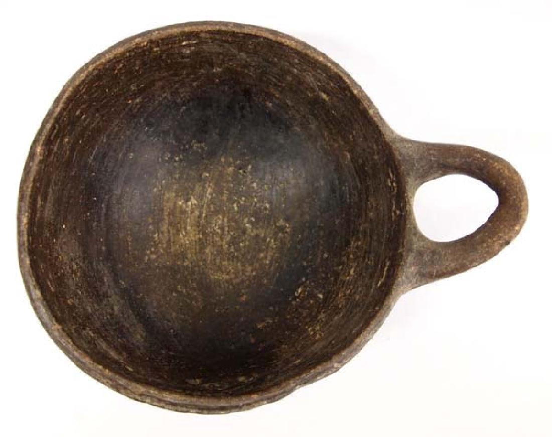 Large Historic Pueblo Pottery Ladle - 2