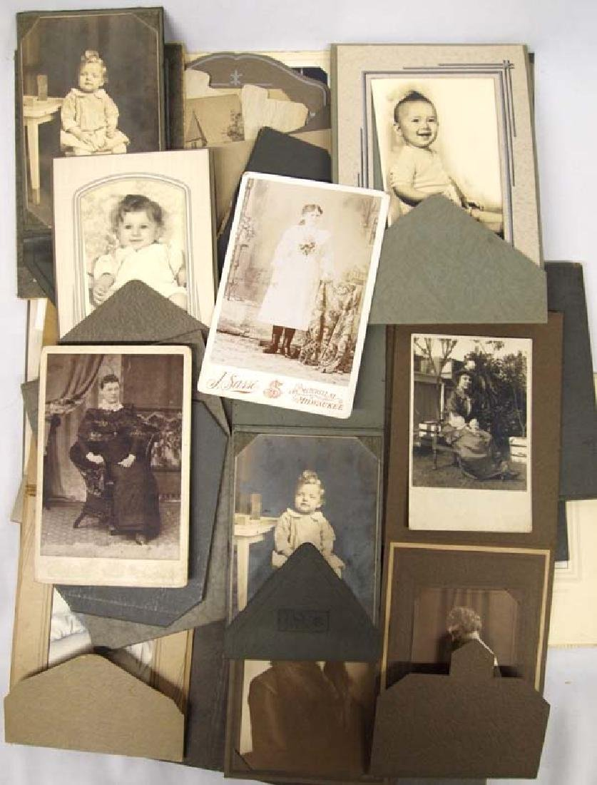 Collection of 1890-1940 Estate Photographs