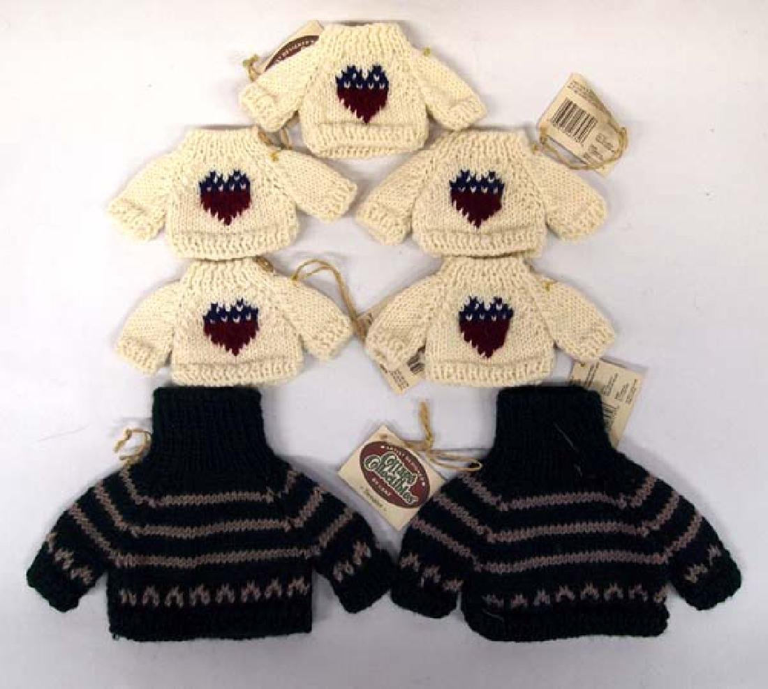 Cottage Collectibles Knitted Bear or Doll Sweaters