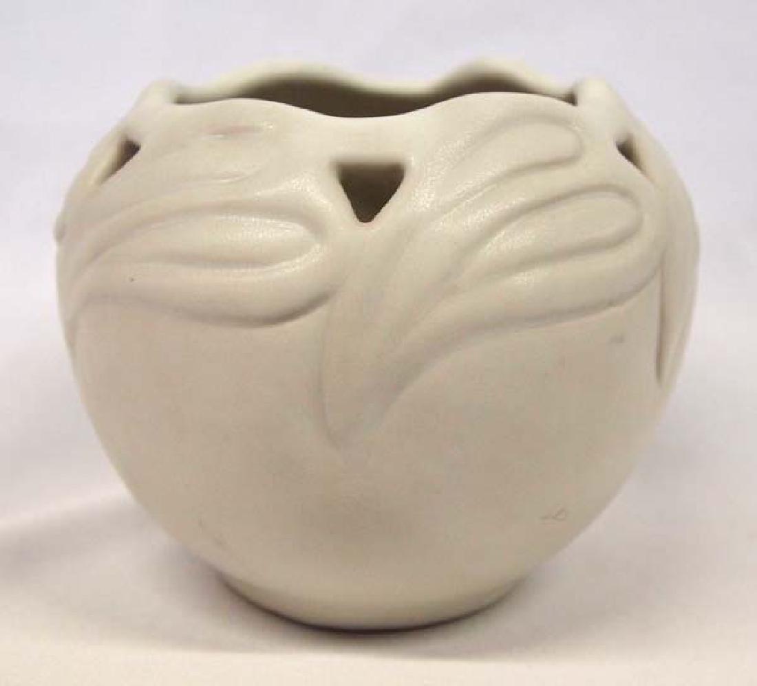 1940 Van Briggle Philodendron Leaf Vase