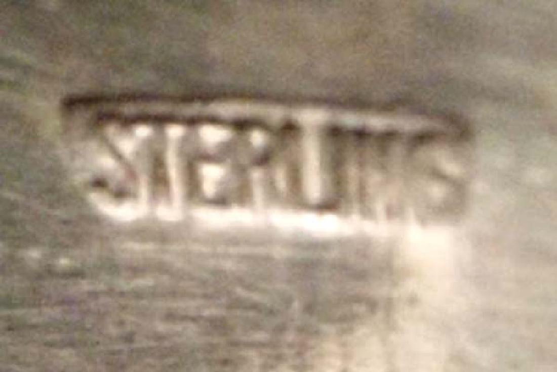 Native American Navajo Sterling Silver Bracelet - 3