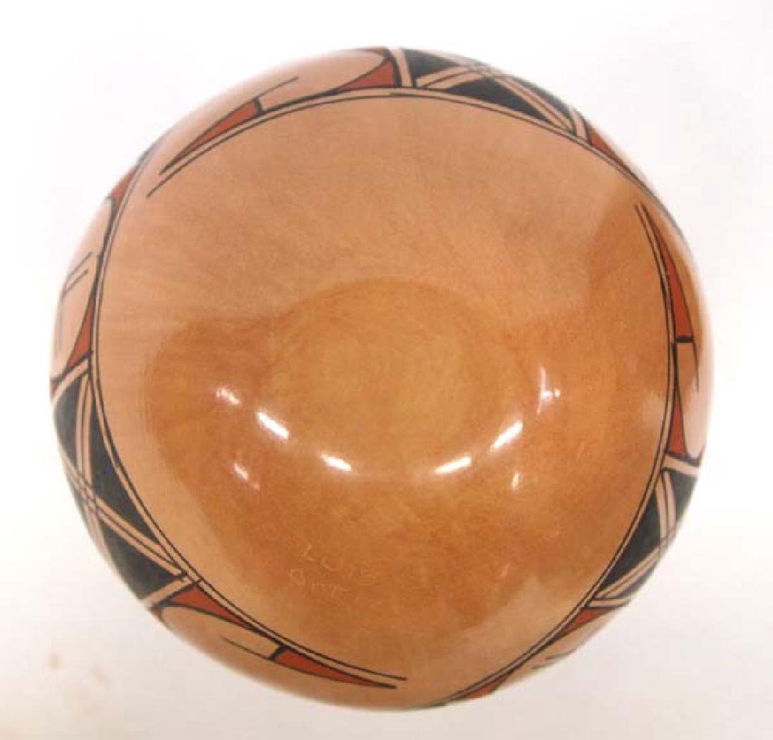 Mexican Mata Ortiz Polychrome Jar by Luis Ortiz - 4