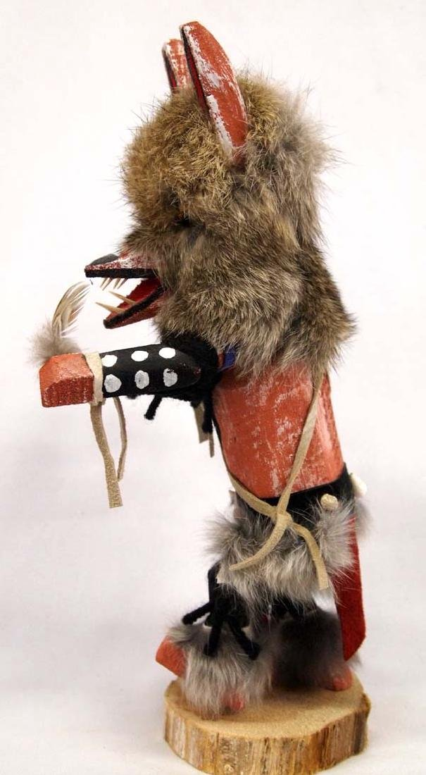 Native American Navajo Wolf Kachina by James - 2