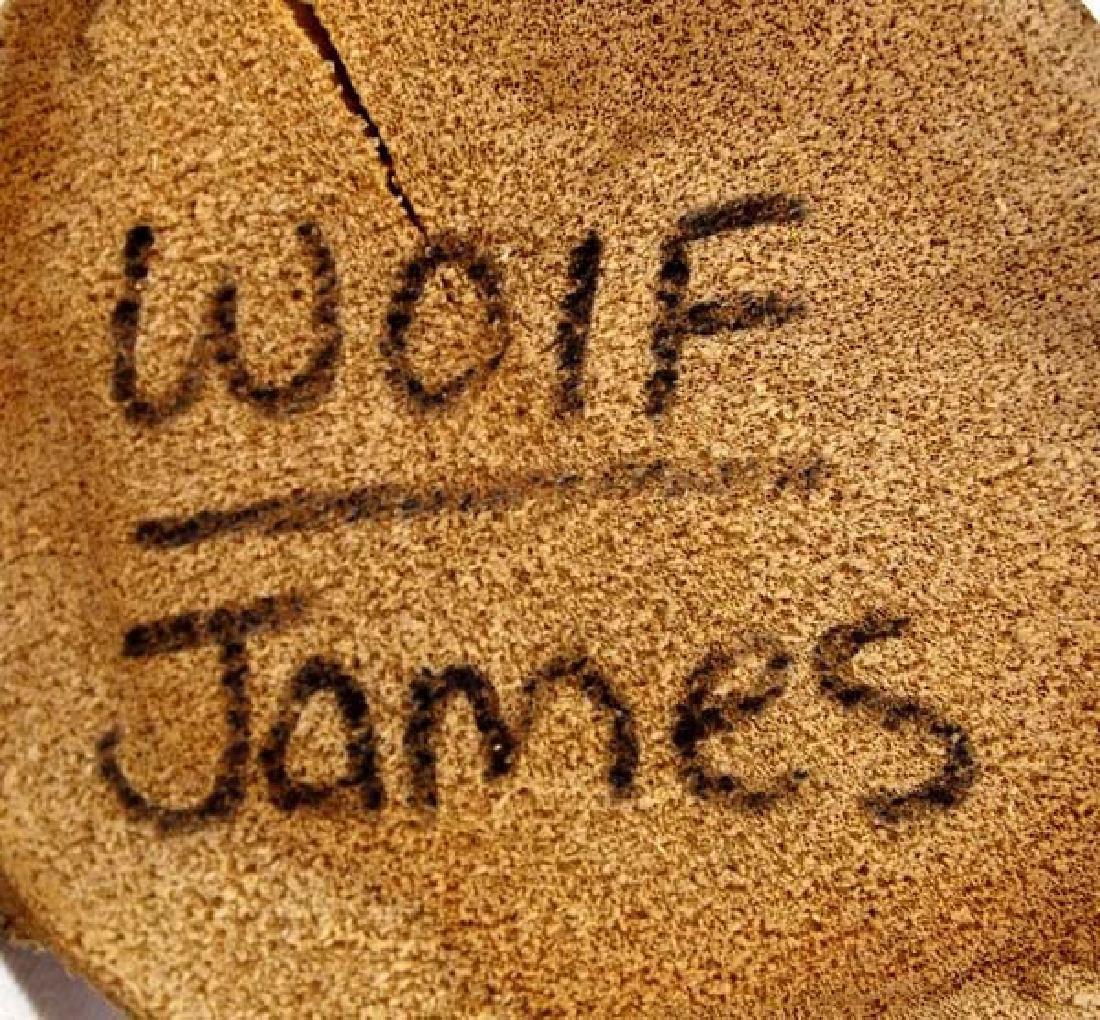 Native American Navajo Wolf Kachina by James - 5