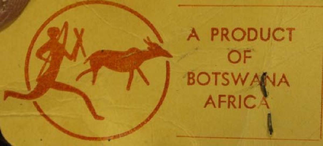 Full Sized Authentic Botswana Africa Zebra Rug - 4