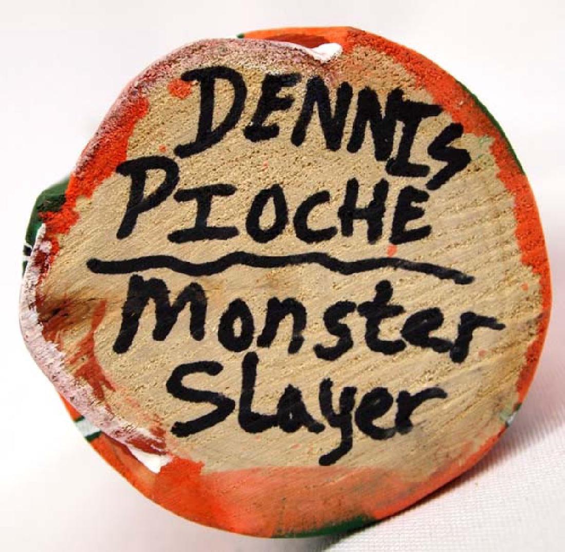 Hopi Monster Slayer Kachina by Dennis Pioche - 5