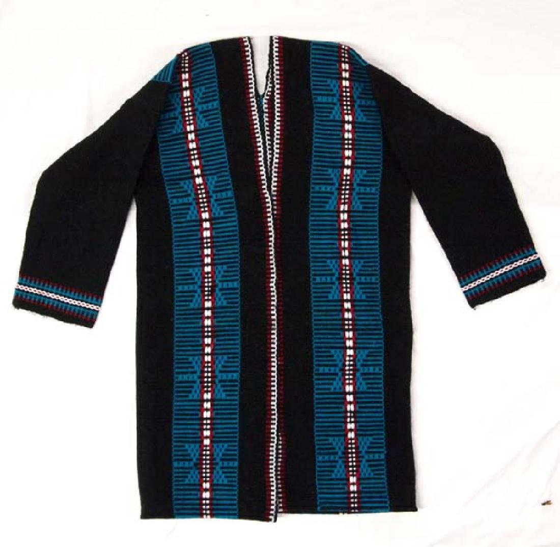 Native American Zuni Wool Textile Coat