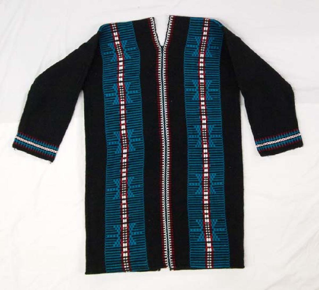 Native American Zuni Wool Textile Coat - 2