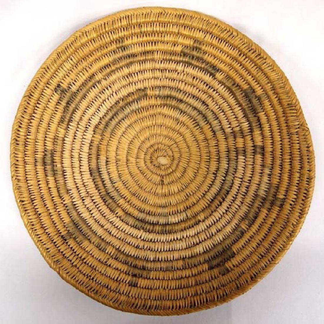 Antique Native American Navajo Wedding Basket
