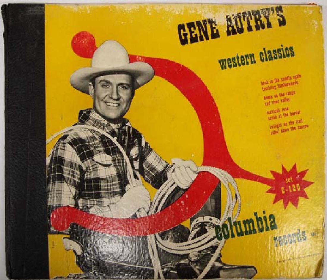 Vintage Gene Autry's Western Classics, 4 Album Set